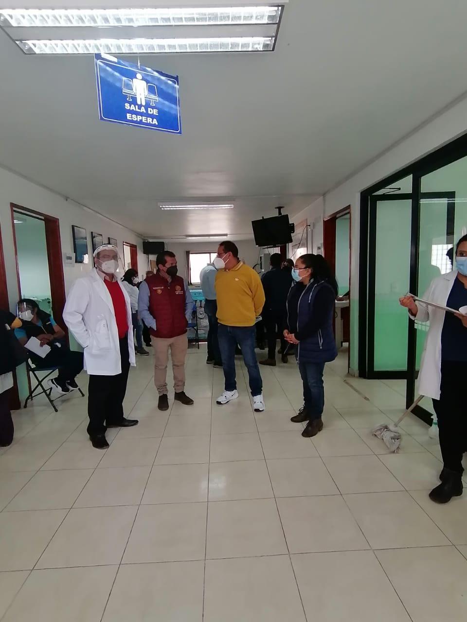Sin contratiempos inició la vacunación contra el SARS-COV2 en Xiloxoxtla