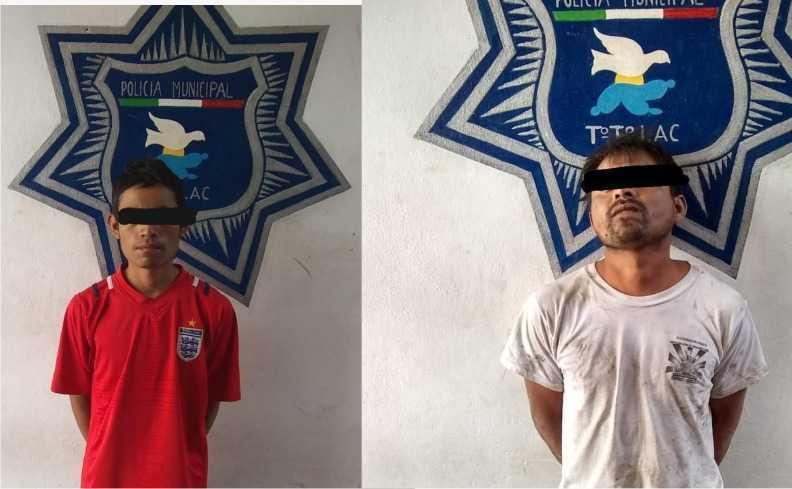 Sujeto asalta a comerciante de comida en Totolac; policía detiene al inculpado