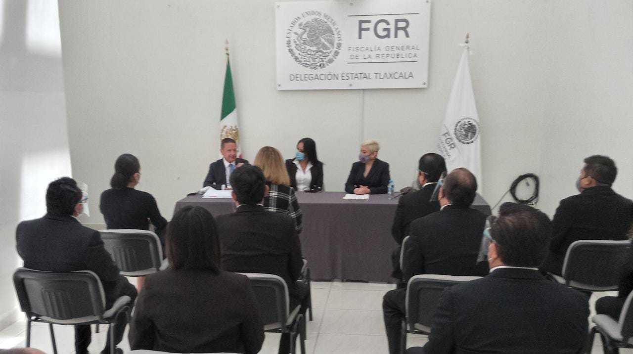 Toma posesión encargada del despacho de la FGR en Tlaxcala