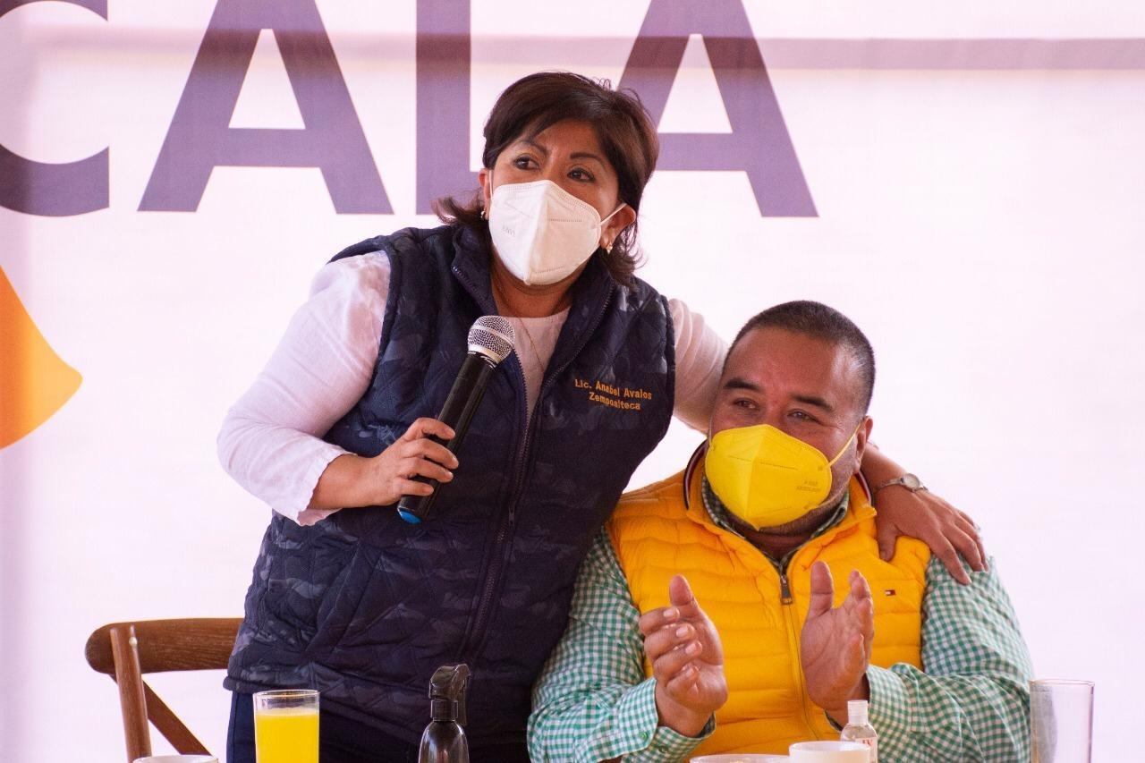 Badillo Jaramillo fortalece el proyecto de Anabell Ávalos
