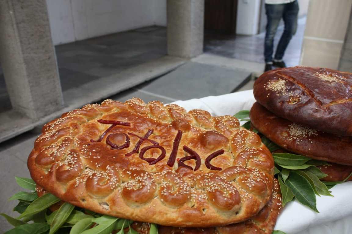 Tahoneros de Totolac celebran declaratoria del pan de fiesta