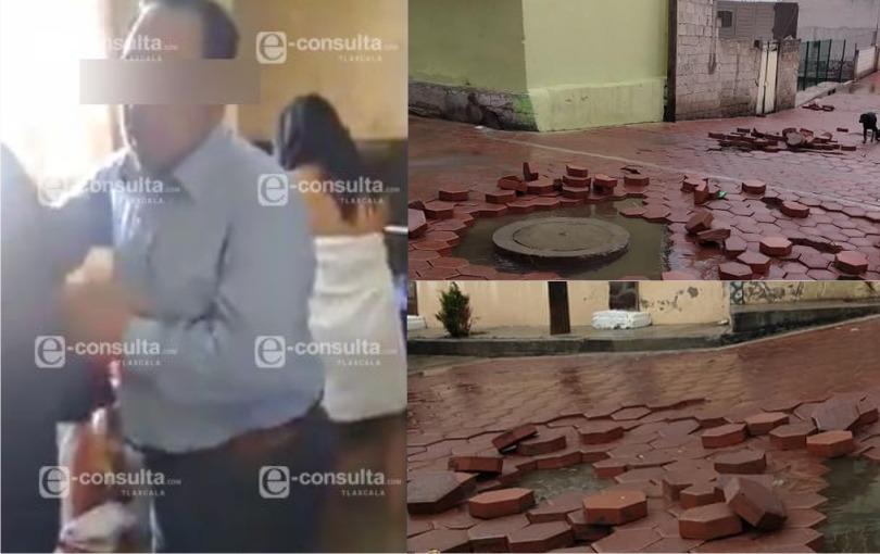 En Zitlaltepec, obras del presidente cachondo se las lleva la lluvia