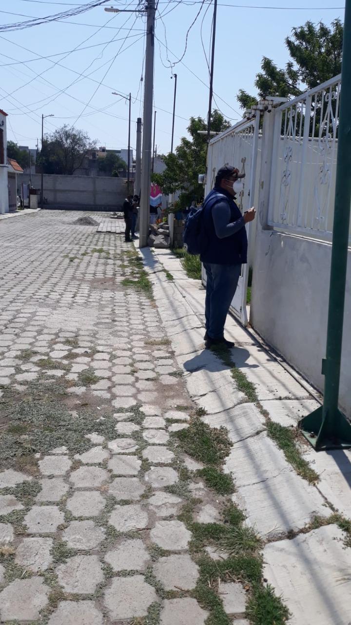 Realizan encuestas para mejorar servicios en las comunidades de Tzompantepec