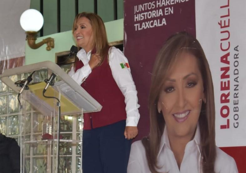 Arremete Lorena Cuéllar contra sindicatos corruptos