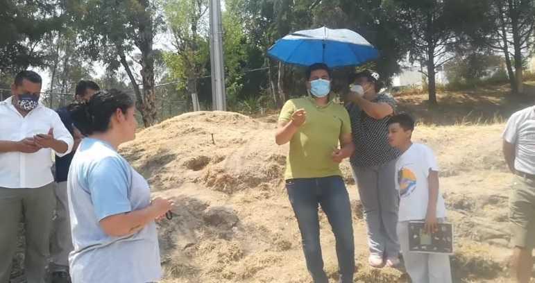 Pobladores se inconforman por el flujo de agua contaminada en Panotla