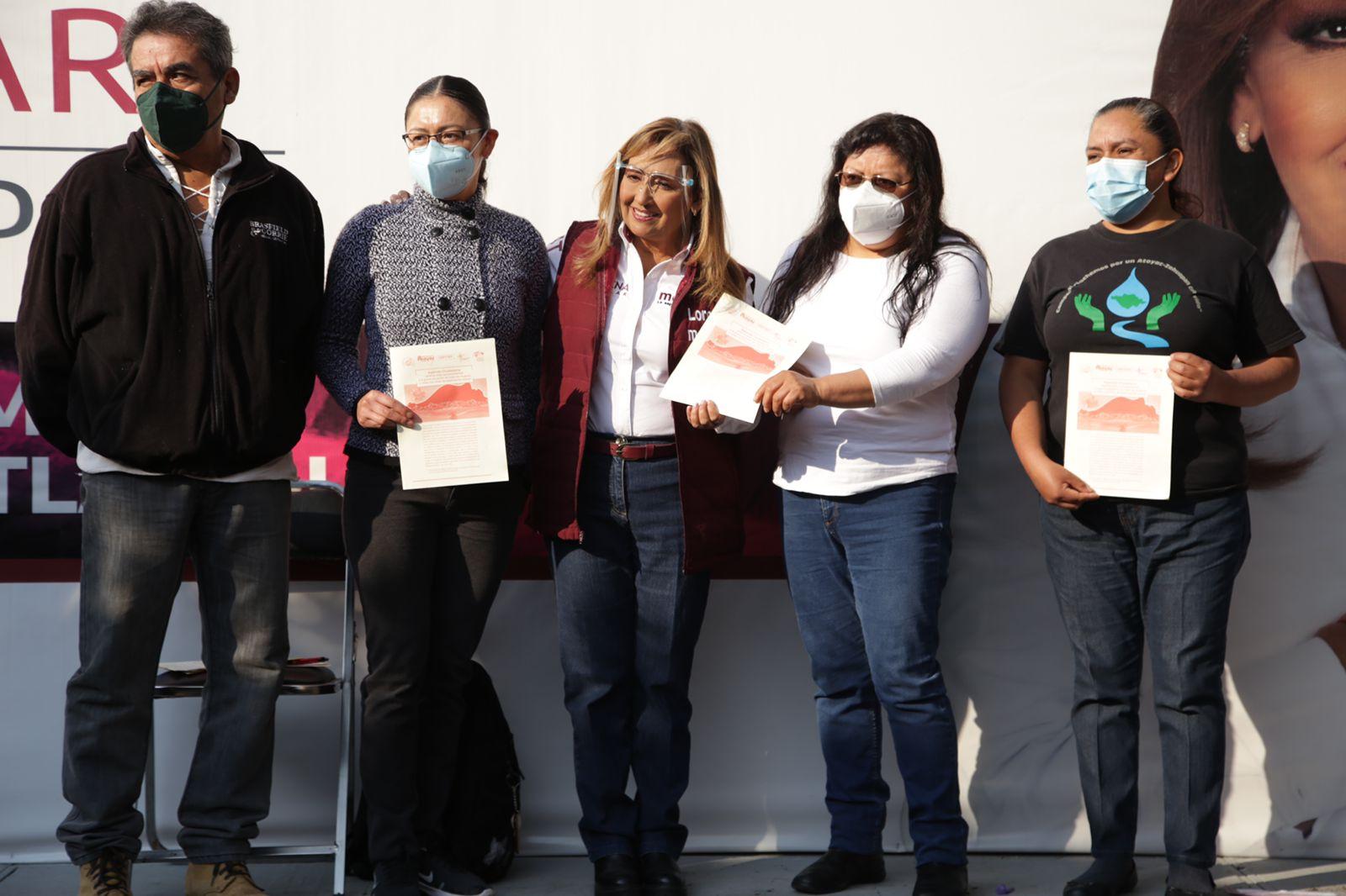La trata de personas y la contaminación deben terminar: Lorena Cuellar