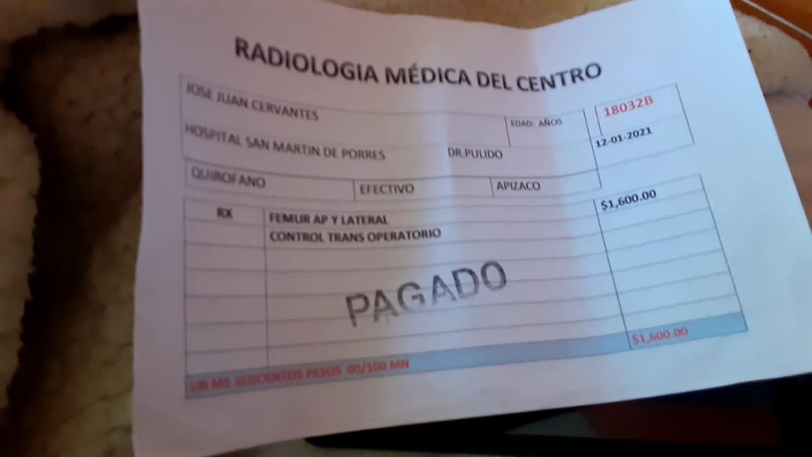 Negligencia en el hospital San Martín de Porres de Apizaco; podrían amputar un pie