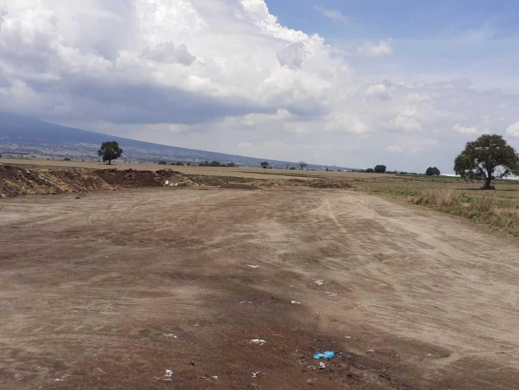 Tiradero de desechos en terrenos de labor de Carrillo Puerto - Huamantla es falso