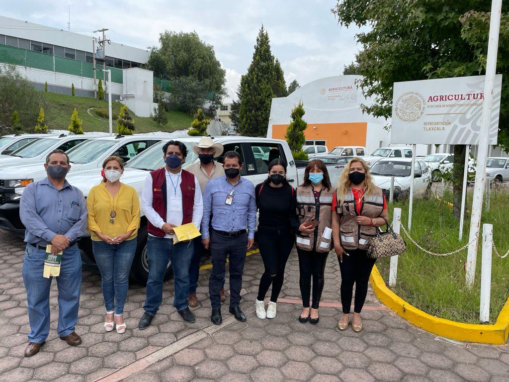 Blindan oficinas de Bienestar Tlaxcala