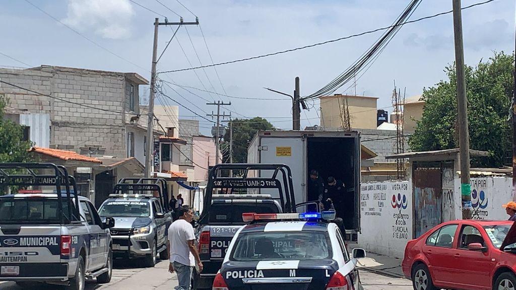 Denuncian en Xaxala camión de despensas para comprar votos a favor de Anabell, Eloy y Efraín