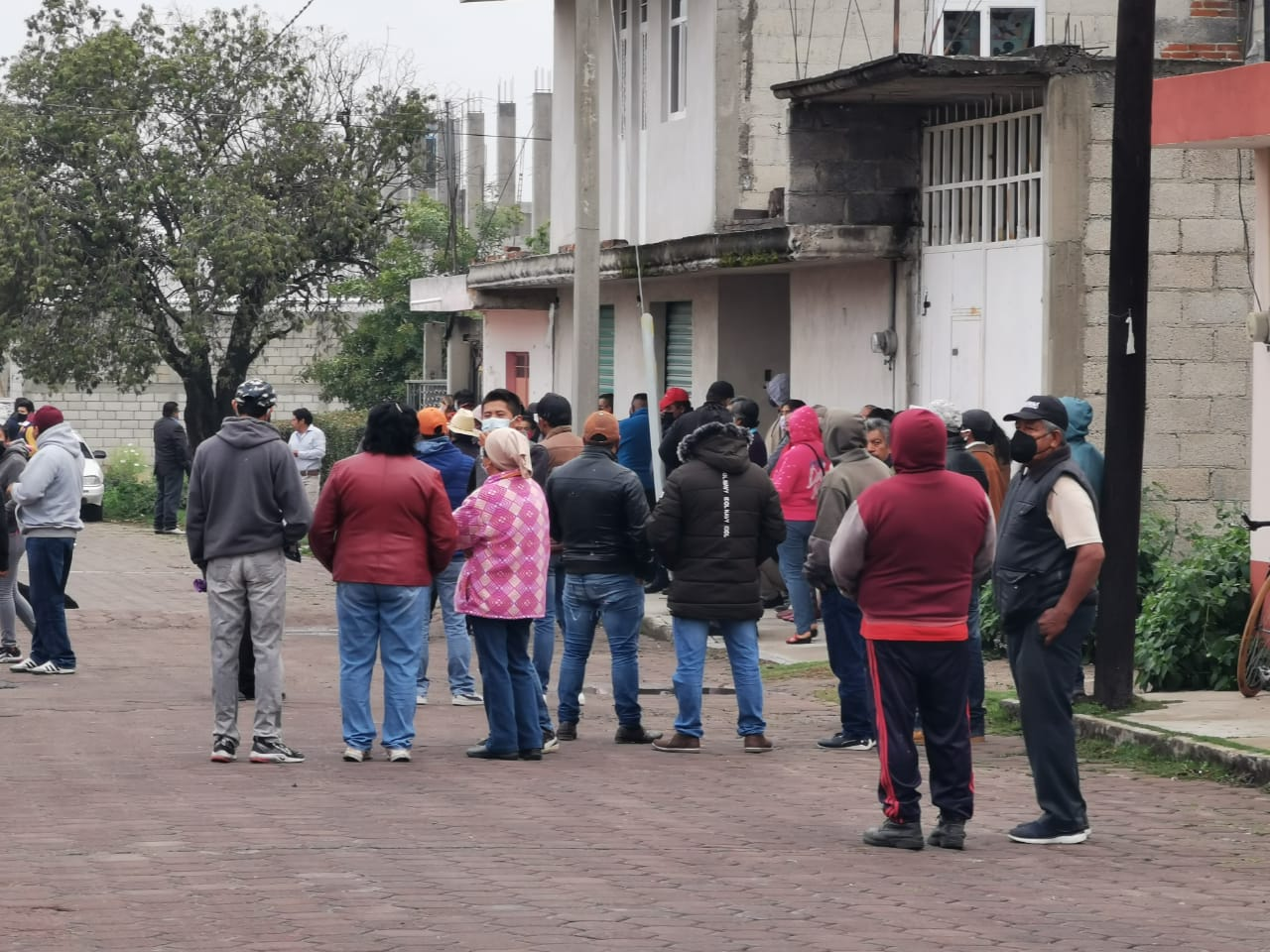 Inconformes pobladores de Tlaltelulco; se niegan a la instalación de la casilla 150