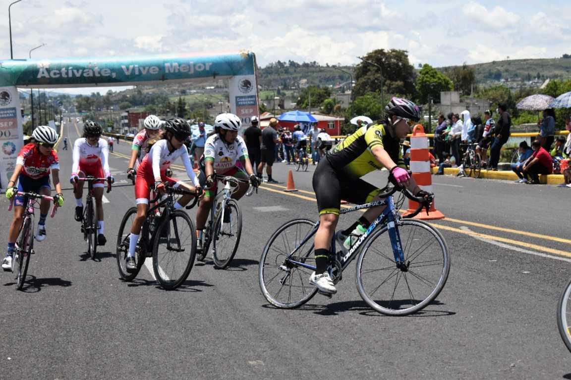 Fue Zacatelco sede del Primer Campeonato Regional Infantil de Ciclismo