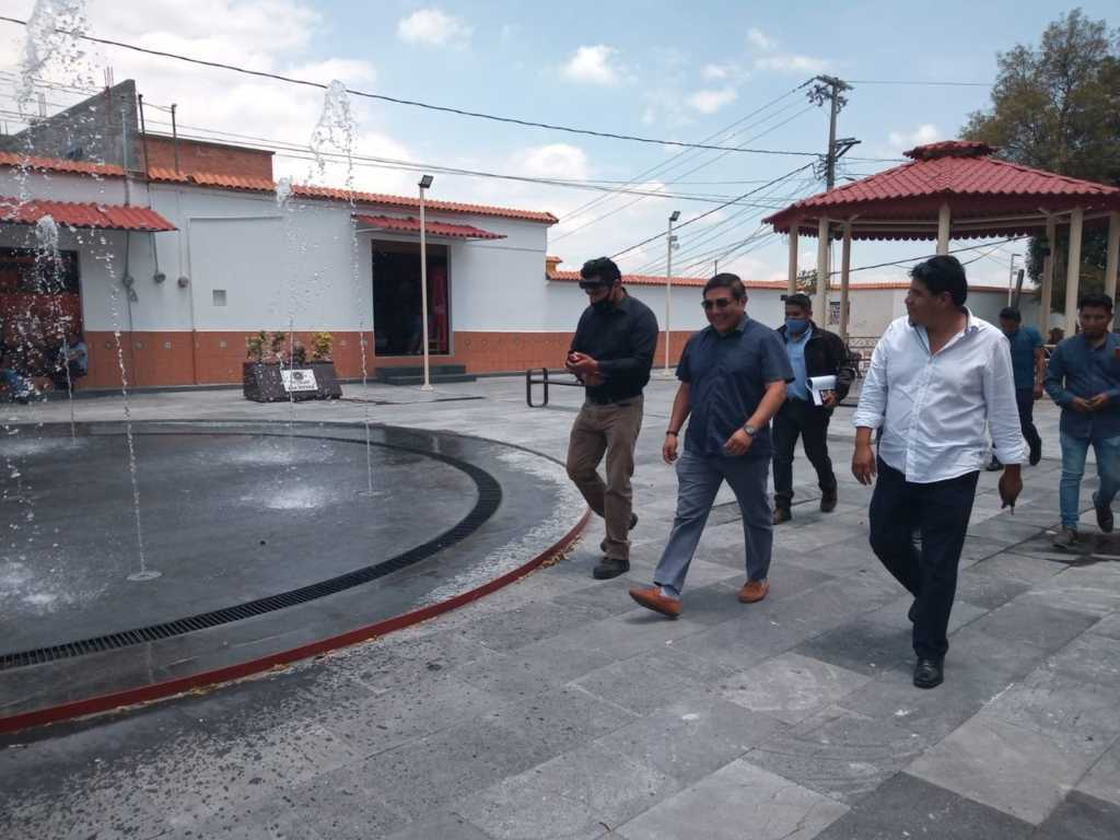 Rehabilitación de la plaza de los 4 señoríos en Totolac