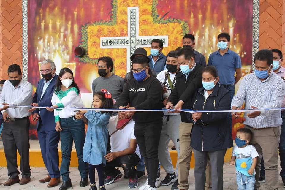 Inauguran murales y barda perimetral en el expanteón de La Santísima – SPM
