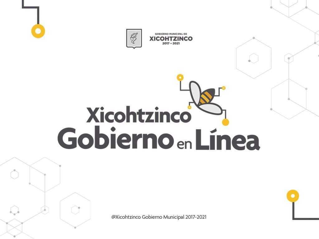 Ante toma de presidencia; Gobierno de Xicohtzinco atiende en línea