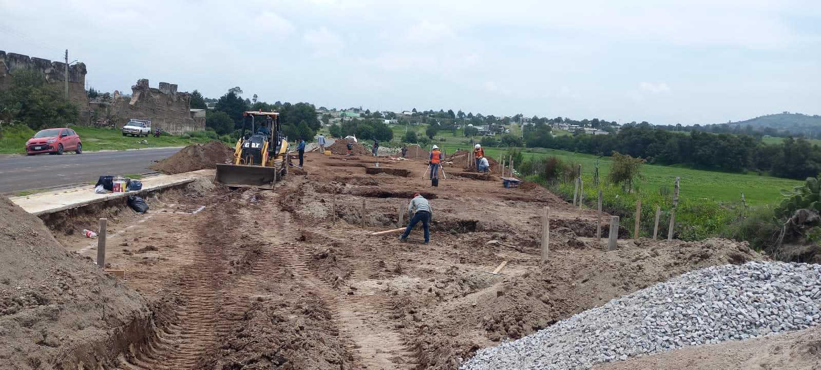 Inicia la construcción de la primera comisaria de seguridad publica de Atlangatepec