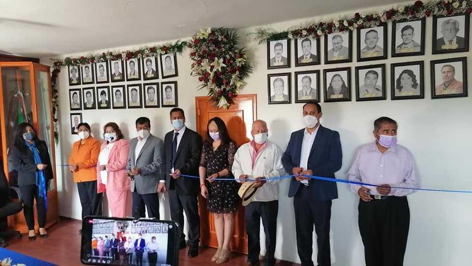 En Yauhquemehcan inauguran la Galería de Presidentes Municipales