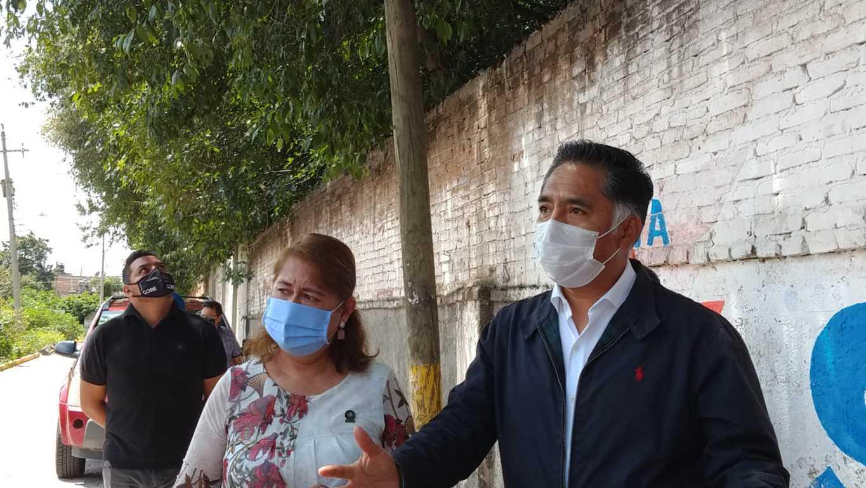 Jesús Herrera y Maribel León entregan obras de impacto en La Ciénega - Papalotla