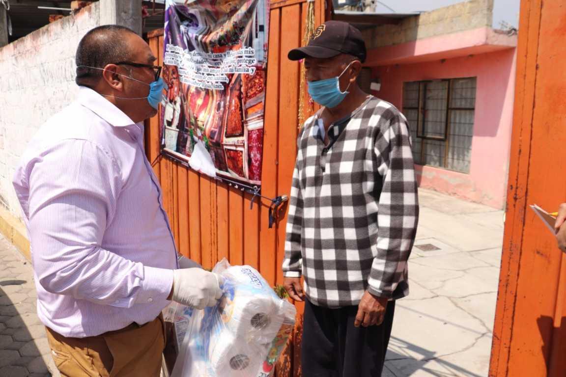 Gobierno de Xicohtzinco erogó más de 1 MDP en apoyos a familias por la pandemia