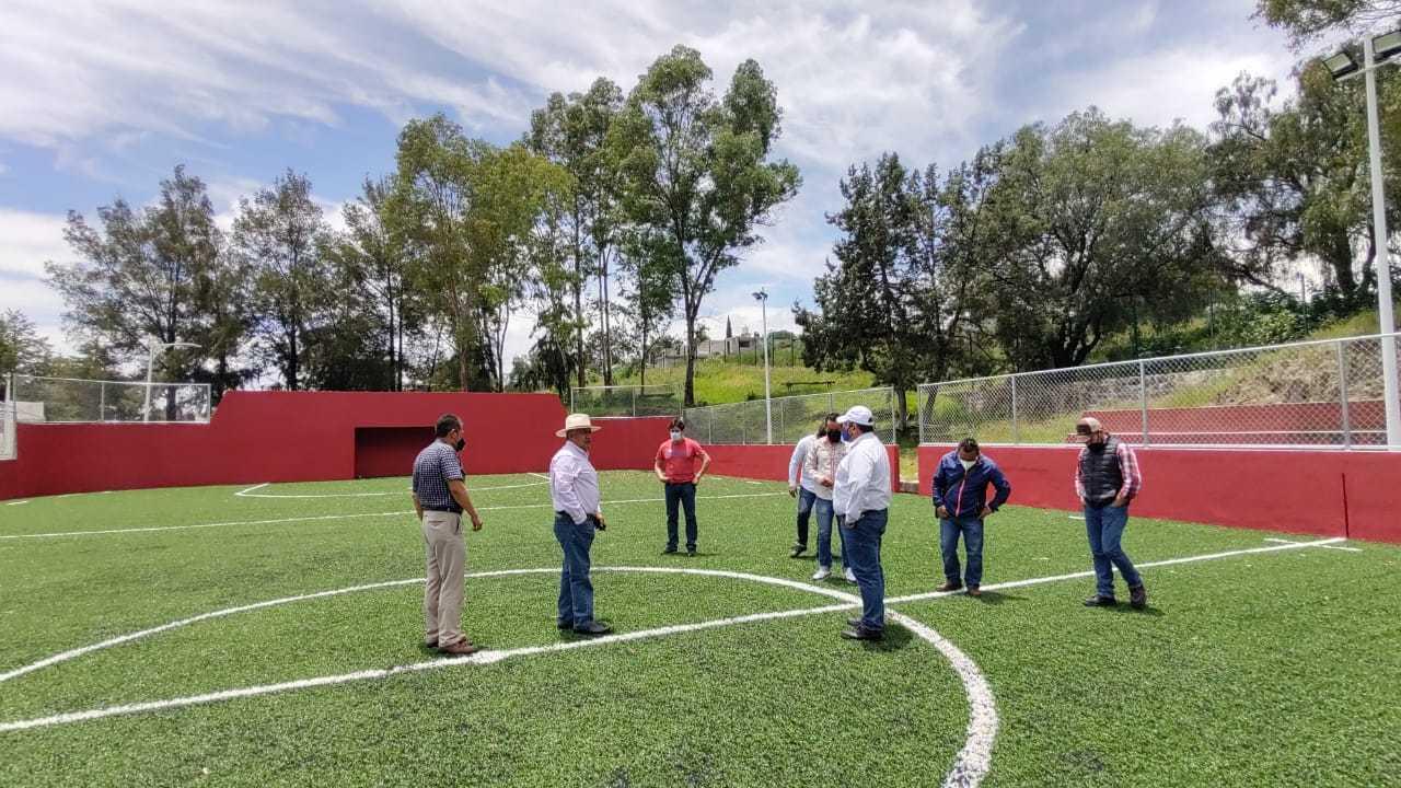 Obras funcionales dejará Rafael Zambrano en Ixtacuixtla