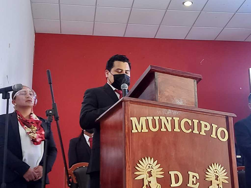 Edil de Hueyotlipan garantiza una administración transparente y comprometida