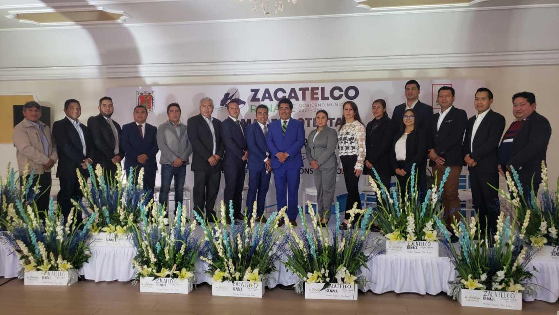 Gran impacto logra toma de protesta del H. Ayuntamiento de Zacatelco 2021 - 2024