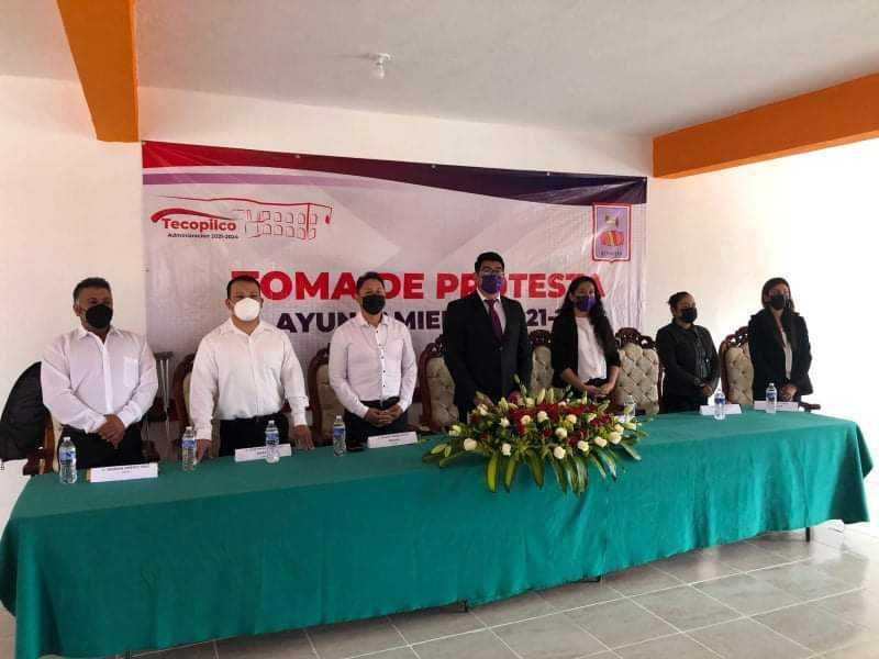 Misael Báez el presidente más joven de Tlaxcala; compromete trabajo y resultados