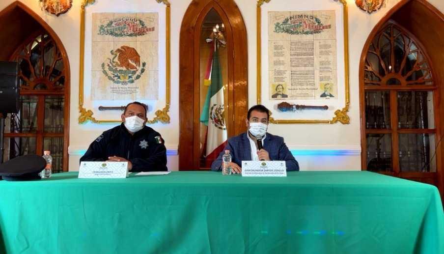 Salvador Santos anuncia la prohibición de ambulantaje en Huamantla