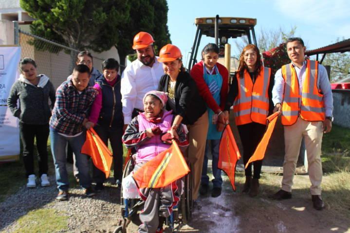 Con más obras de calidad abatimos el rezago social: Badillo Jaramillo