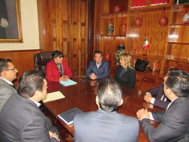 Firman convenio de colaboración ayuntamiento de Tlaxcala y la UAT