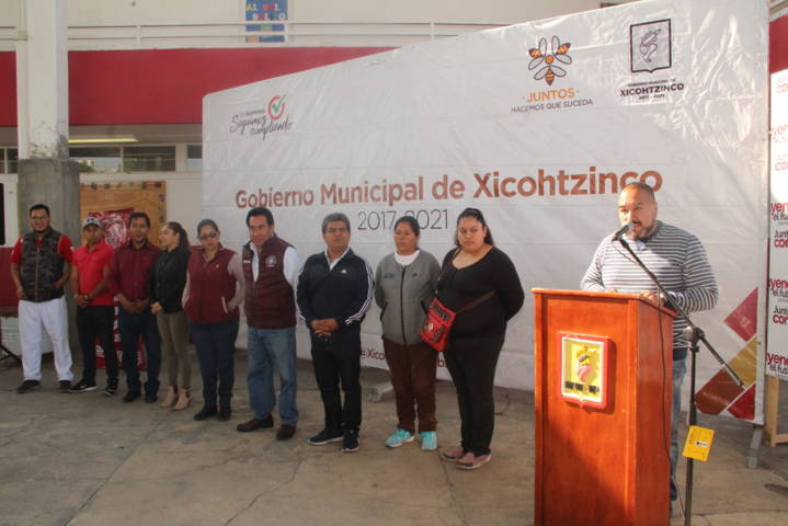 Una escuela limpia contribuye a una mejor educación: Badillo Jaramillo