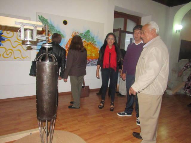 Se exhibe en la galería municipal de Tlaxcala la exposición plástica Luces y Sombras