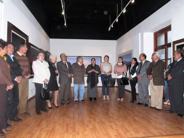 Inauguran exposición del Maestro Armando Ahuactzin como parte de los festejos de la ciudad