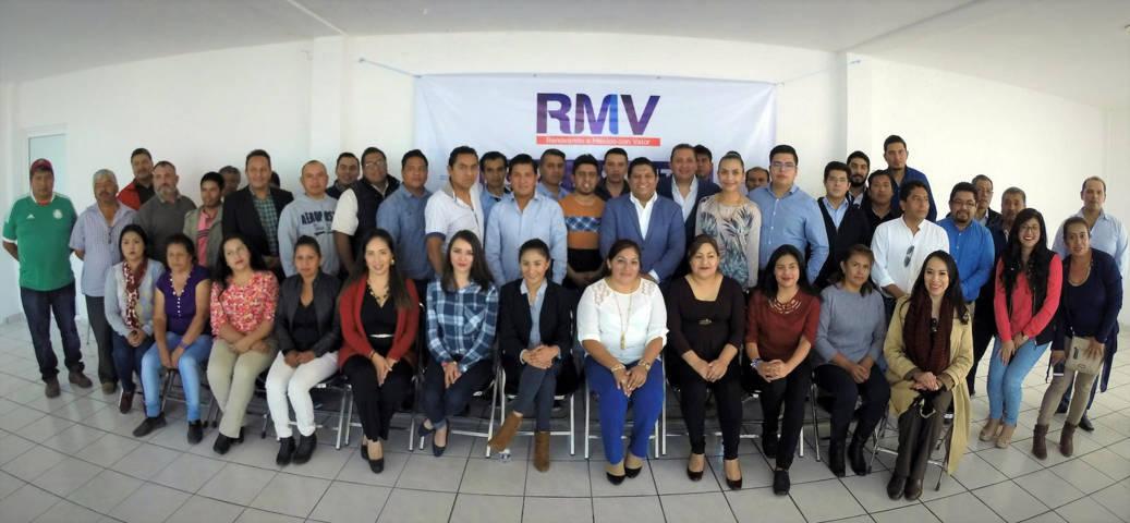 Celebran con éxito el primer foro del Frente Ciudadano por México en Zacatelco