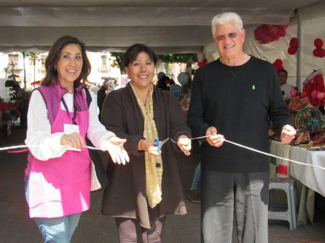 Inaugura la alcaldesa Anabell Ávalos el Bazar Tlaxcala