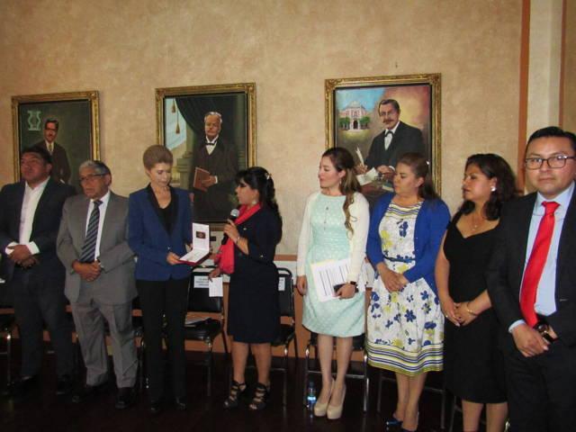 Entregan las llaves de la ciudad de Tlaxcala a Beatriz Pagés Rebollar