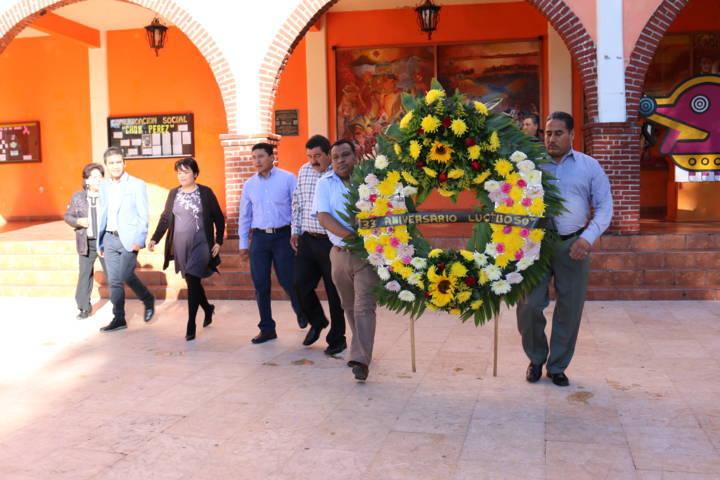Conmemora Texoloc Aniversario Luctuoso de Chon Pérez