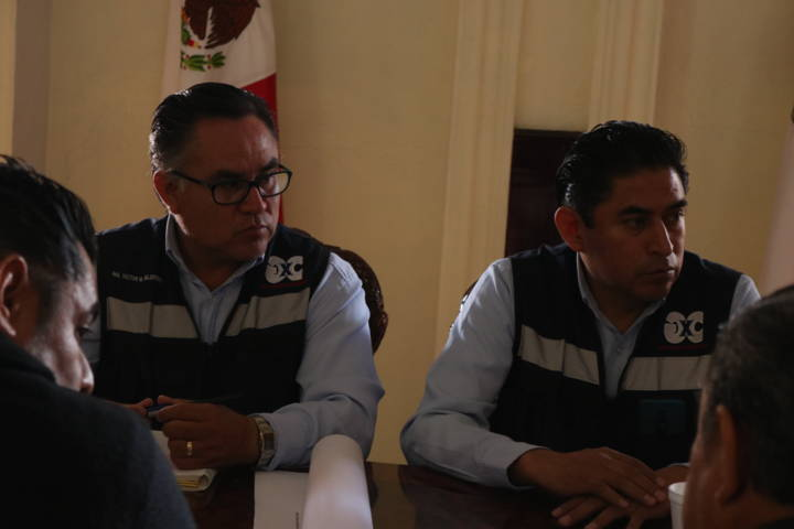 Ayto. de Chiautempan toma medidas preventivas durante la construcción de tienda comercial