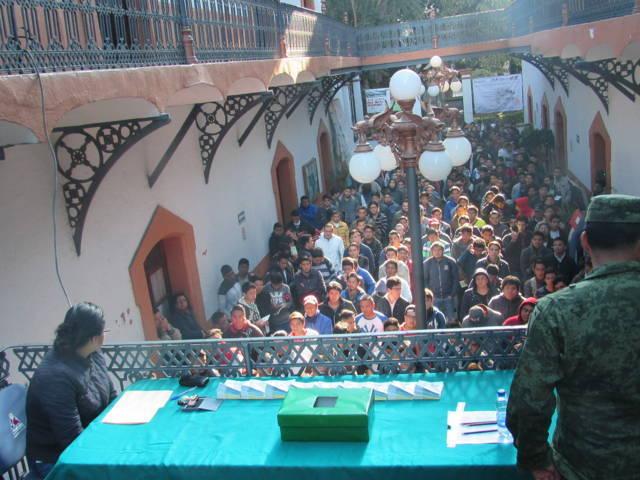 Abren convocatoria comuna de Tlaxcala para tramitar cartilla militar