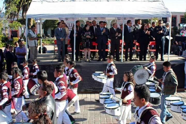 Día de fiesta por CXLII aniversario de incorporación de Calpulalpan a la entidad