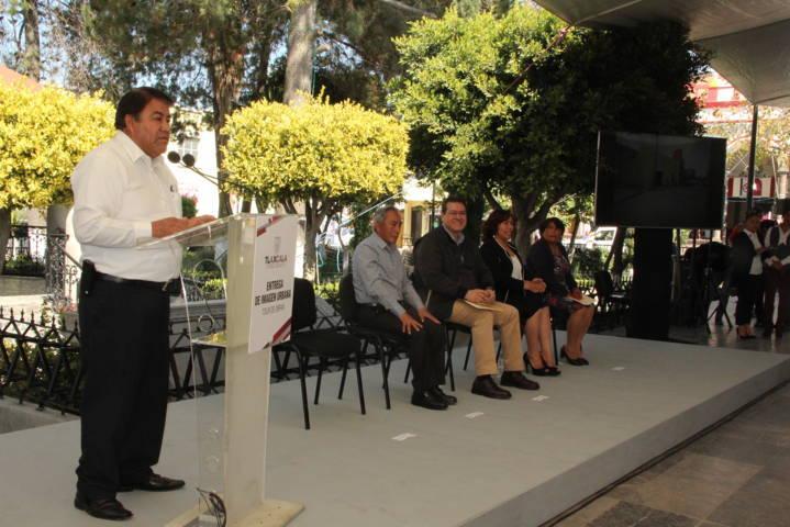 Esta obra de imagen urbana impulsa el desarrollo del municipio: alcalde