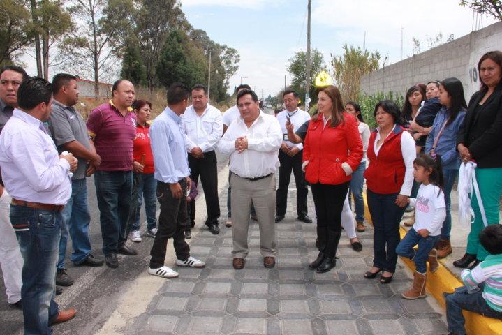 Diputada federal realiza gira de trabajo por Xiloxoxtla