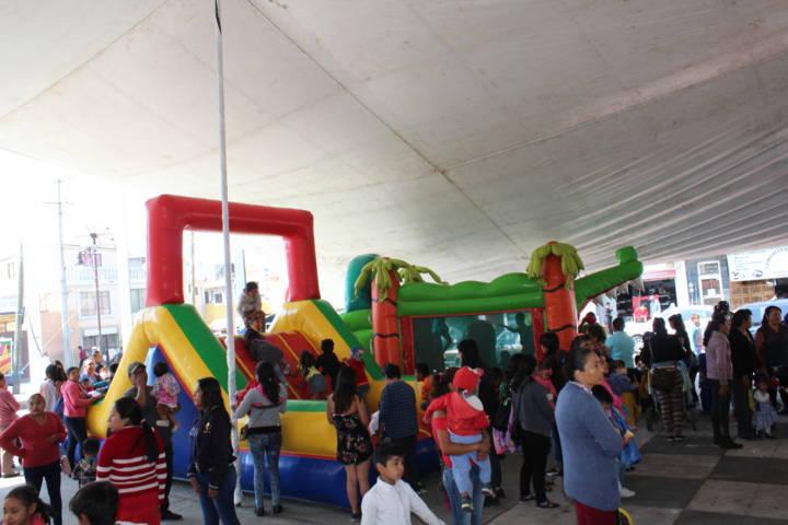 El SMDIF de SPM festejo a los niños y las niñas del municipio en su día