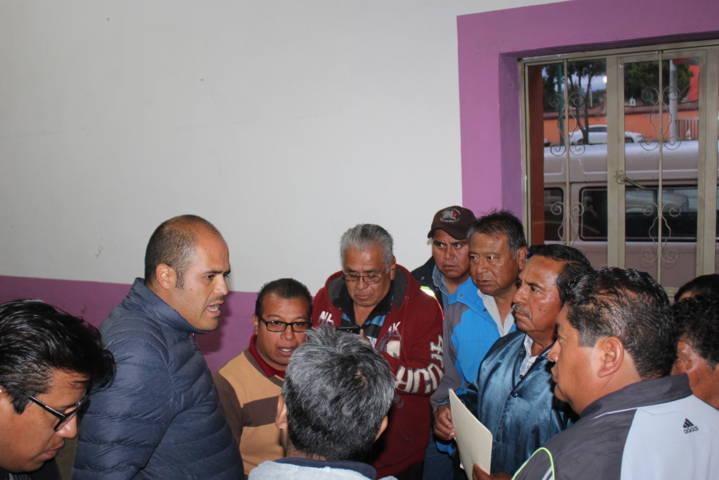 Fijan criterios para festejos patronales en comunidad de Santa Cruz Tlaxcala