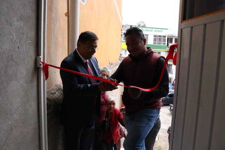 Inauguran Casa De Los Abuelos en el barrio de Panzacola, Chiautempan