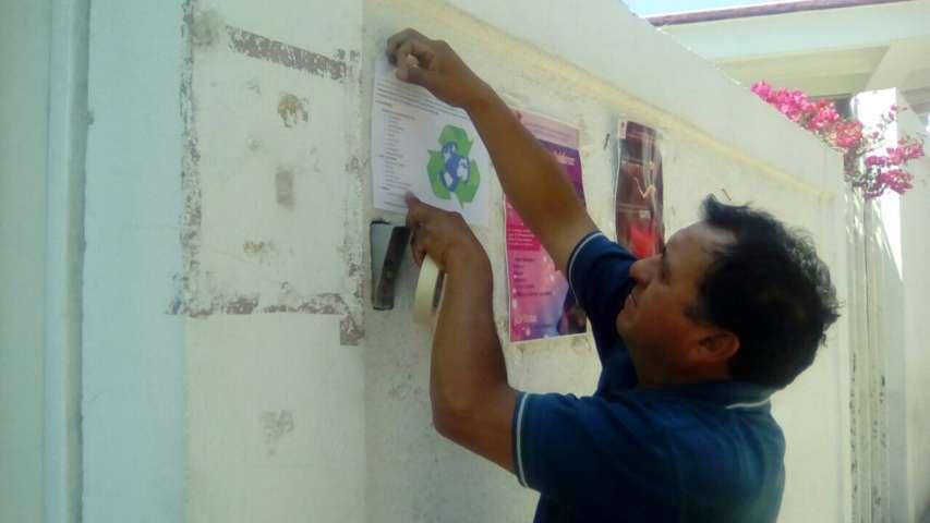 Campañas de reciclaje en San Damián Texóloc