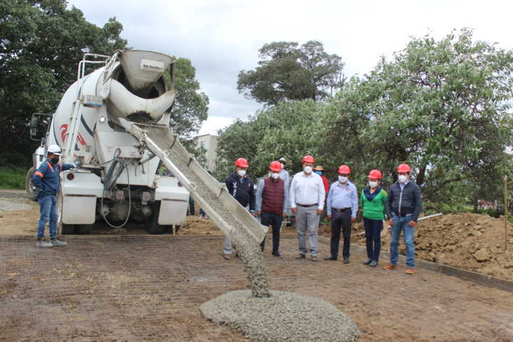 Inicia la construcción de pozo profundo de agua potable en Guadalupe Tlachco