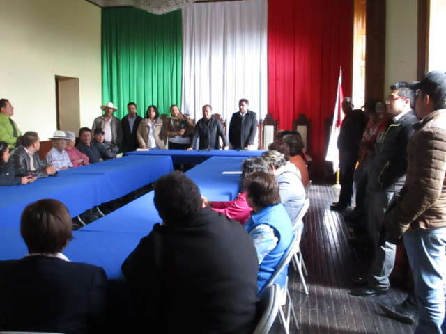 Respalda Sindicato 7 de Mayo a sus agremiados de Calpulalpan