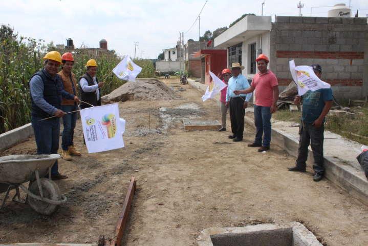 Alcalde continua haciendo obras de calidad en beneficio de la población