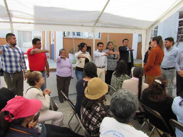 Inauguran comuna capitalina y Sedesol tienda Diconsa en el SMDIF de Tlaxcala